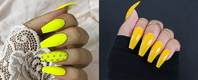 Top 50 Best Bright Yellow Nails For Women – Sunshine Inspired Designs
