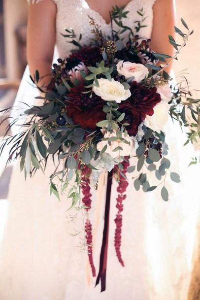 Brilliant Christmas Wedding Flowers