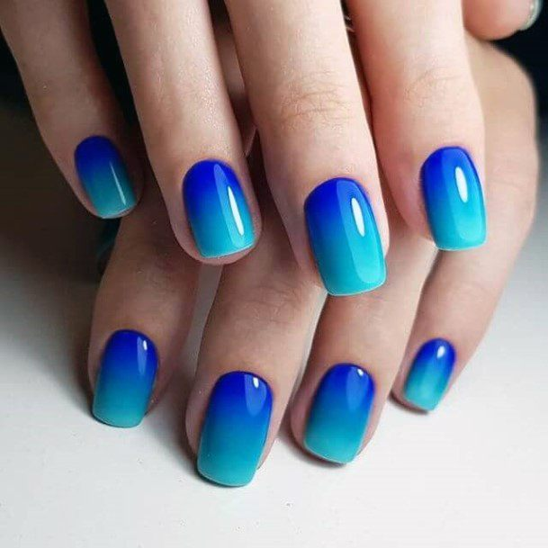 Brilliant Shades Of Blue Nail Colors