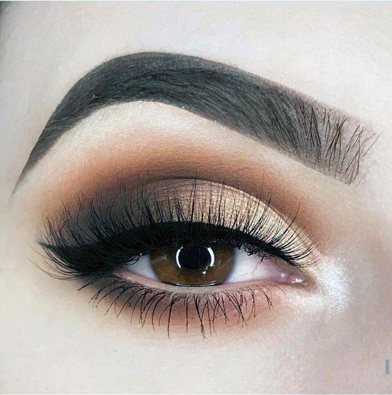 Brown With Golden Hints Eyeshadow Women