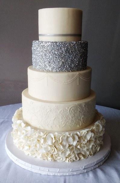 Buttercream Large Wedding Cake