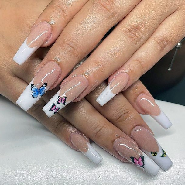 Butterfly Art April Nails Women