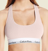 Calvin Klein Womens Underwear Cotton Bralette