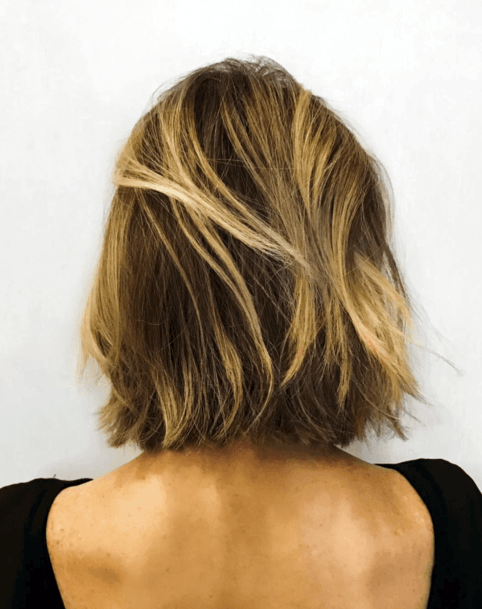 Casual Honey Balayage For Women
