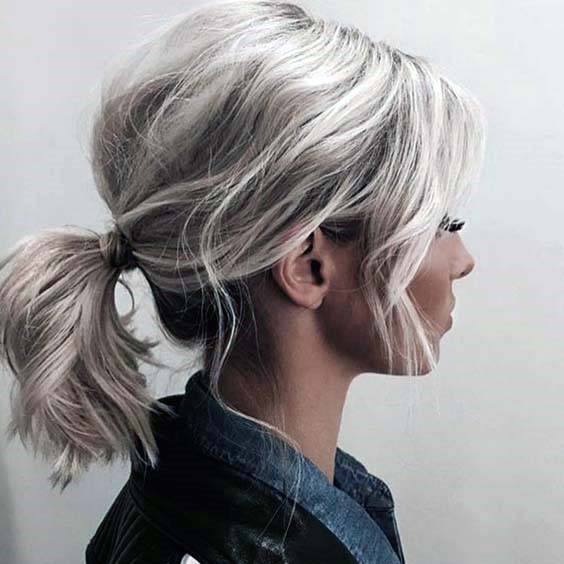 Casual Low Loose Ponytails For Women