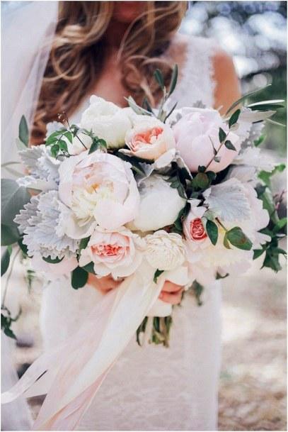 Celestial Bouquet Blush Wedding Flowers