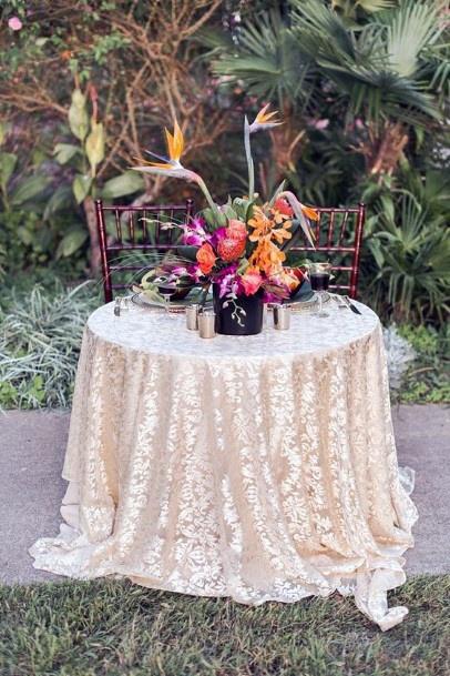 Centerpiece Hawaiian Wedding Flowers