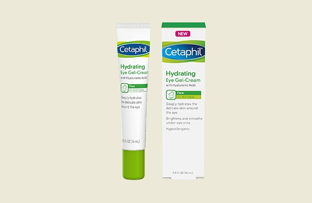 Cetaphil Hydrating Hyaluronic Acid Gel Eye Cream For Women
