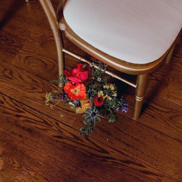 Chair Decor May Wedding Flowers