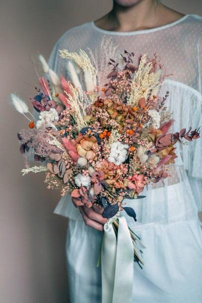 Charming Boho Wedding Flowers