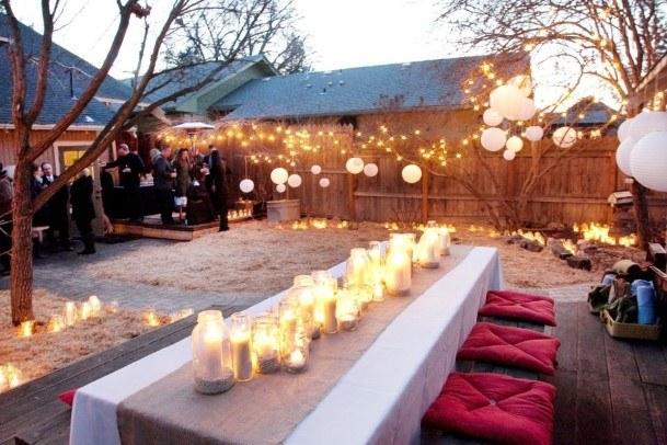 Chill Backyard Wedding Ideas