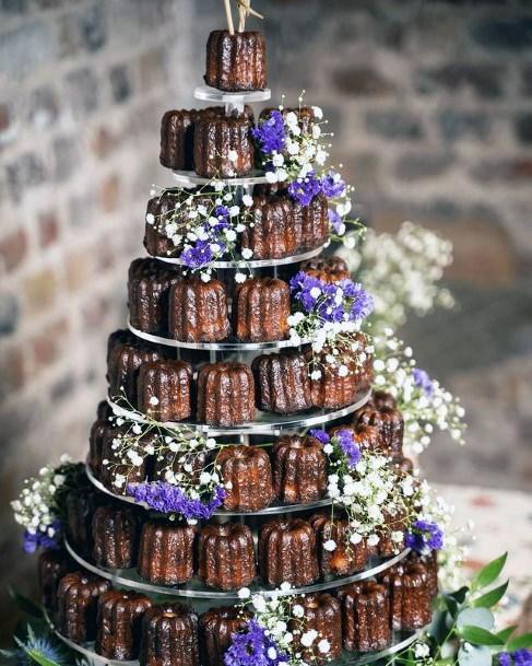 Chocolate Bars Unique Wedding Cake