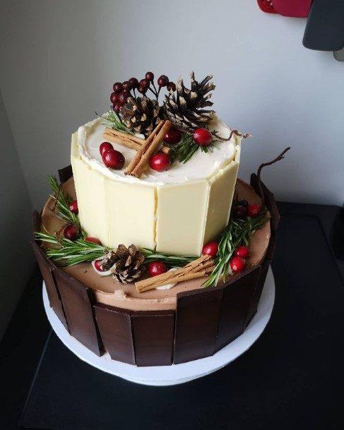 Chocolate Bars Wedding Cake