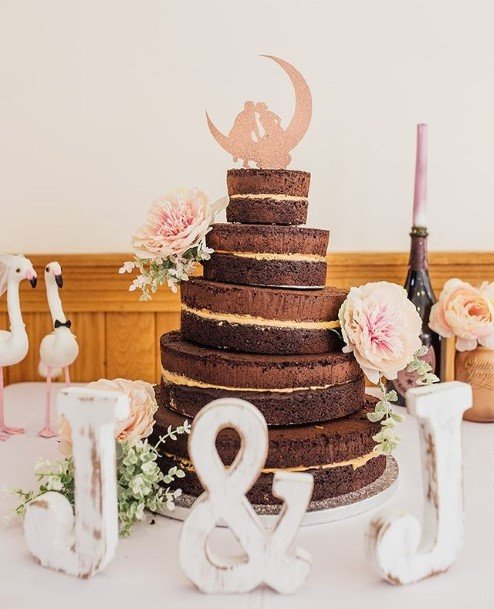 Chocolate Treat Wedding Cake