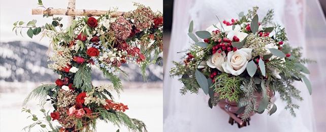 Top 75 Best Christmas Wedding Flower Ideas – Yuletide Bridal Florals