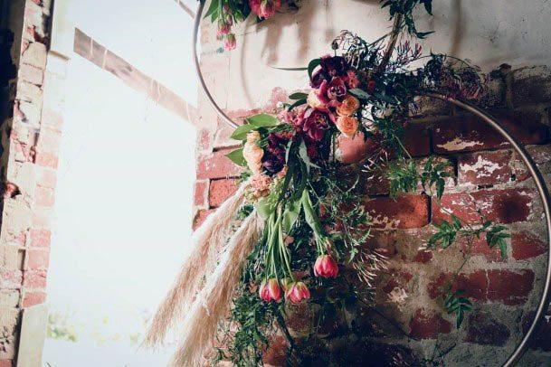 Circular Designs Rustic Wedding Flowers