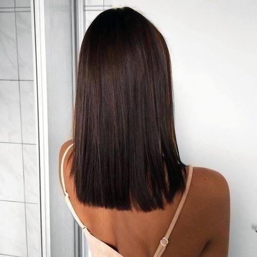 Classic Dark Straight Women Hair