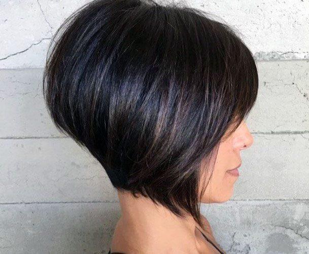 Classic Faux Bob Women Hairstyle