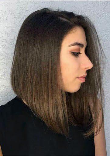 Classic Gradient Edge Hairstyle Women