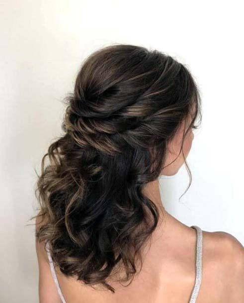 Classic Twisted Hairdo Hairstyle Women