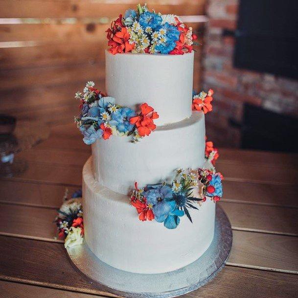 Classy Red Velvet Wedding Cake