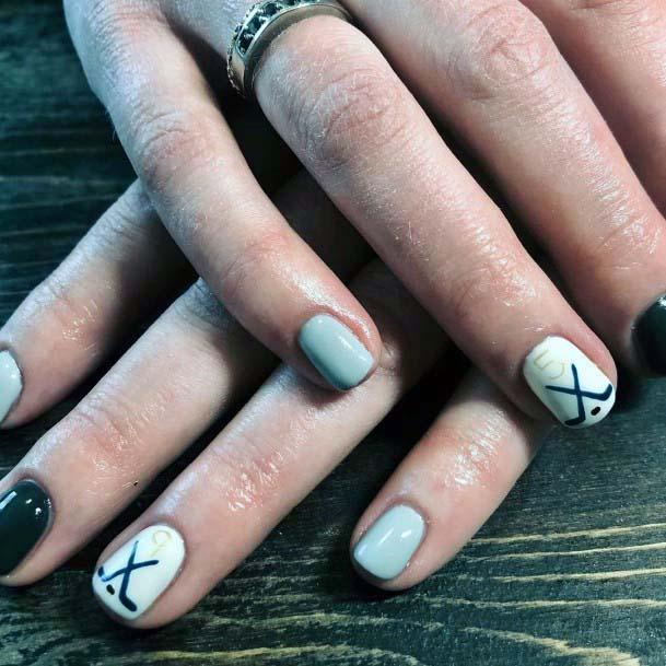 Classy Sport Nails For Women