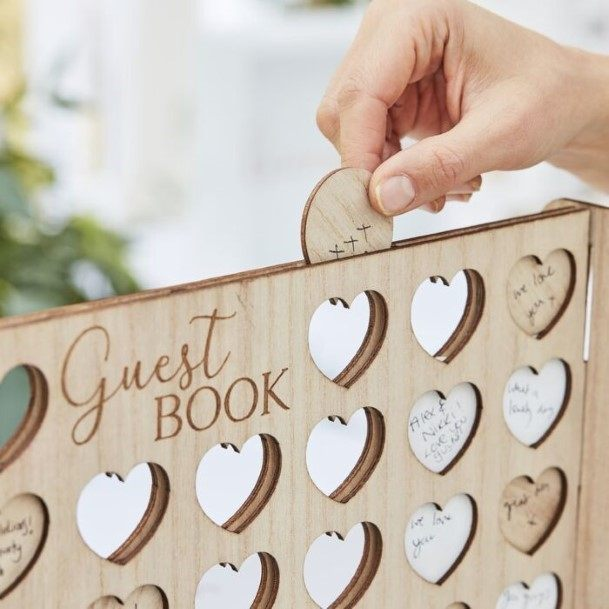 Connect Four Wedding Guest Book Ideas