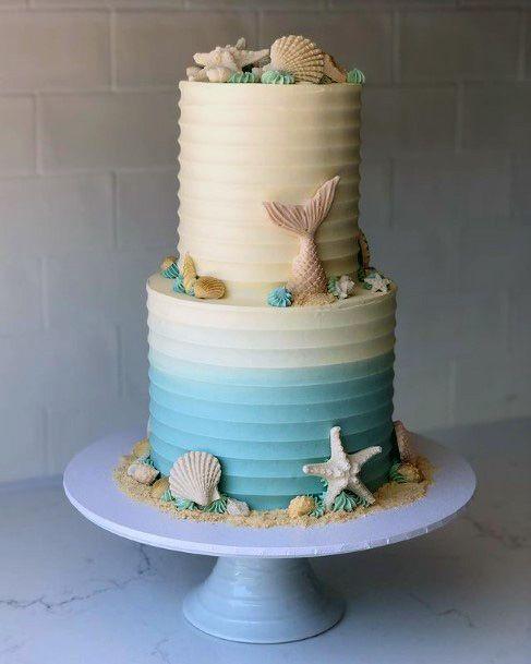 Cool Beach Wedding Cake Women