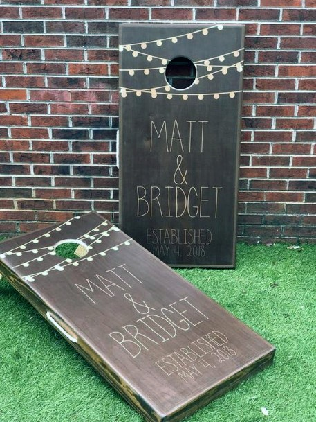 Cornhole Yard Games Backyard Wedding Ideas