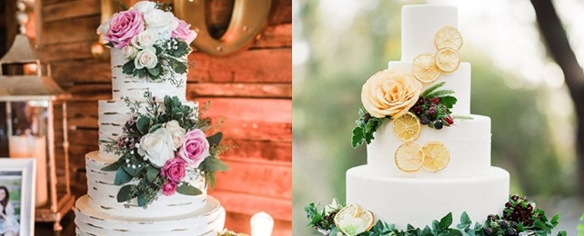 Top 60 Best Country Wedding Cake Ideas – Nature Inspired Cakes