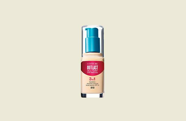Covergirl Outlast All Day Stay Fabulous 3 In 1 Drugstore Foundation For Women