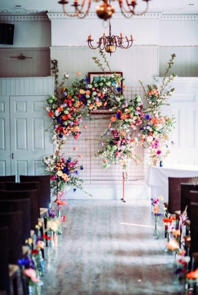 Decorated May Flower Wedding Hall