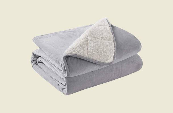 Degrees Of Comfort Fuzzy Weighted Blanket For Women