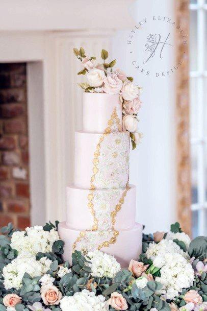 Delicious Elegant Wedding Cake Women Decor