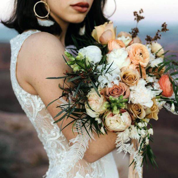 Delightful Beach Wedding Flowers