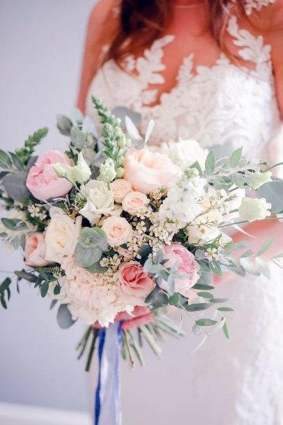 Delightful Blush Wedding Rose Flowers