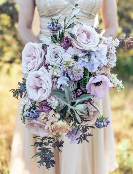 Delightful Lavender Wedding Flower Roses