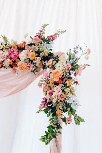 Delightful May Wedding Flowers