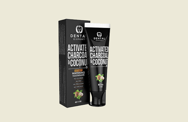 Dental Expert Activated Charcoal Teeth Whitening Toothpaste For Women
