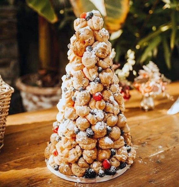 Dessert Hill Unique Wedding Cake
