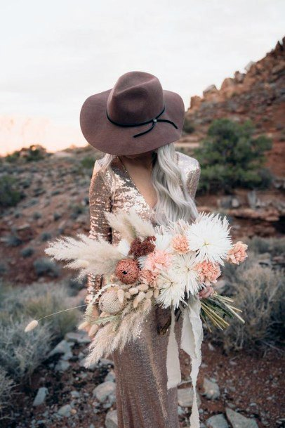 Deviant Boho Wedding Flowers