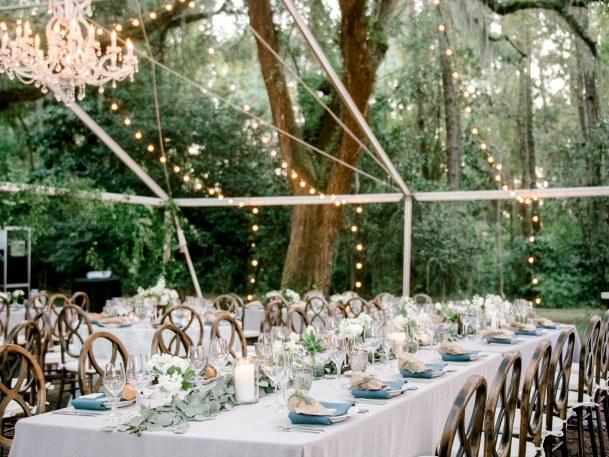 Dinning Tables Backyard Wedding Ideas
