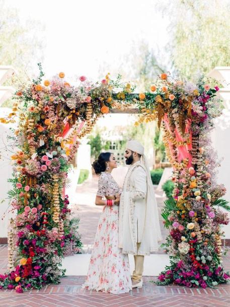 Divine Flowed Decorations Indian Wedding