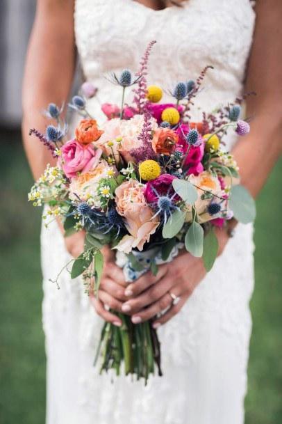 Divine May Wedding Flowers