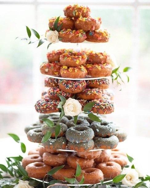 Donut Wedding Cake Stand
