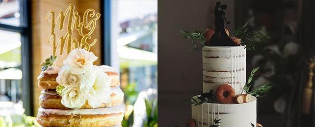 Top 70 Best Donut Wedding Cake Designs – Glazed Pastry Cake Ideas