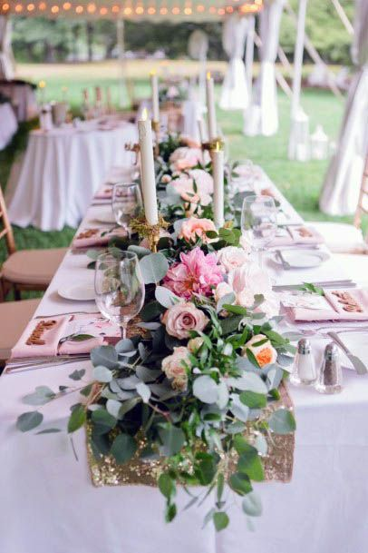Dreamy August Wedding Flowers