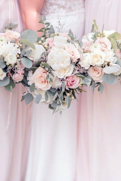 Dreamy Blush Rose Flower Wedding