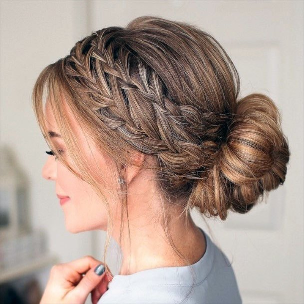 Dutch Inspired Chignon Women Hairstyle