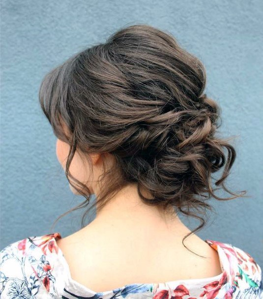 Easy Hairstyle For Women Short Ringlets